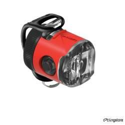ECLAIRAGE LEZYNE FEMTO USB 15 LUMENS AVANT ROUGE