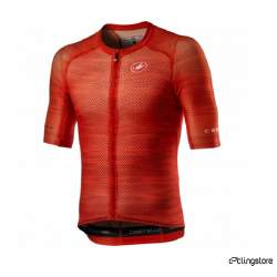 MAILLOT COURT CASTELLI CLIMBER'S 3.0 ROUGE