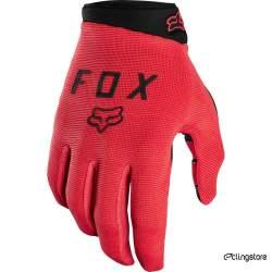 GANTS FOX RANGER ROUGE FLUO